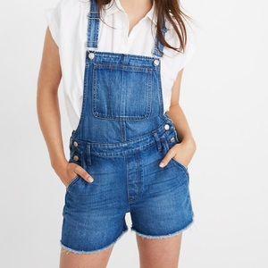 Madewell denim overalls